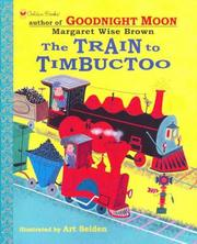 Cover of: The train to Timbuctoo by Jean Little