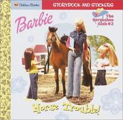 Barbie Horse Trouble Barbie Look Look by Golden Books