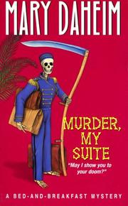 Cover of: Murder, My Suite: A Bed-And-Breakfast Mystery (Beeler Large Print Mystery Series)