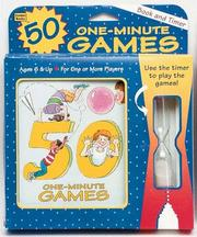 Cover of: 50 One-Minute Games (Booktivity) | Ellen Keller