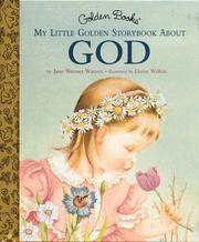 Cover of: My Little Golden Storybook About God
