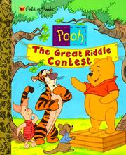 Cover of: Pooh, the great riddle contest
