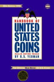 Cover of: 1998 Handbook of United States Coins |