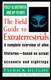Cover of: The field guide to extraterrestrials