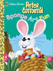 Cover of: Peter Cottontail Sponge Art |