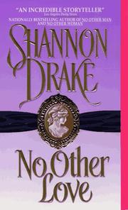Cover of: No Other Love | Shannon Drake