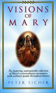 Cover of: Visions of Mary