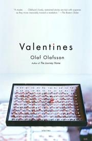 Cover of: Valentines