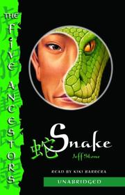 Cover of: Snake: The Five Ancestors, Book 3