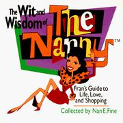 "Cover of: The wit and wisdom of ""The nanny"""