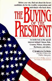 Cover of: The buying of the president