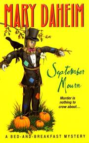 Cover of: September Mourn: A Bed-and-Breakfast Mystery