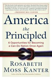Cover of: America the Principled: 6 Opportunities for Becoming a Can-do Nation Once Again
