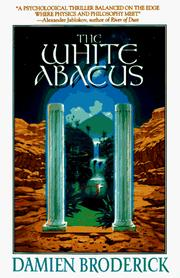 Cover of: The white abacus | Damien Broderick