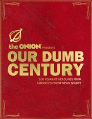 Cover of: Our Dumb Century