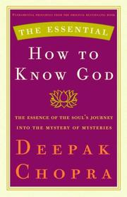 Cover of: The Essential How to Know God