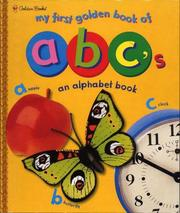 Cover of: My First Golden Book of ABC