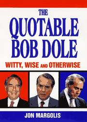 Cover of: The quotable Bob Dole