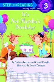 Cover of: It's not Marsha's birthday