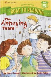 Cover of: The Annoying Team | Ilene Cooper