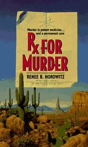 Cover of: Rx for Murder