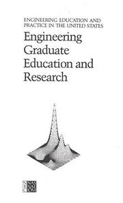 Cover of: Engineering Graduate Education and Research