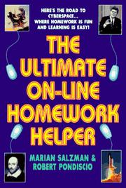 Cover of: The ultimate on-line homework helper