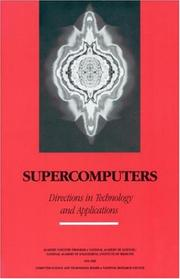 Cover of: Supercomputers | Computer Science and Technology Board