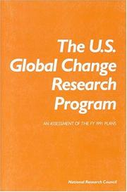 Cover of: The U.S. Global Change Research Program | Committee on Global Change