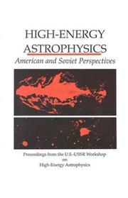 Cover of: High-Energy Astrophysics