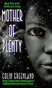 Cover of: Mother of Plenty