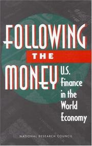 Cover of: Following the money