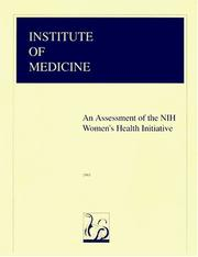 Cover of: assessment of the NIH Women