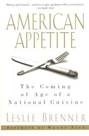 Cover of: American Appetite