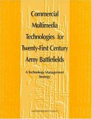 Cover of: Commercial multimedia technologies for twenty-first century army battlefields