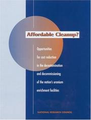 Cover of: Affordable Cleanup? | Ann Covalt