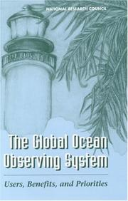 Cover of: The global ocean observing system |