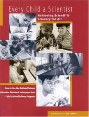 Cover of: Every Child a Scientist | Mathematics, and Engineering Education Staff Center for Science
