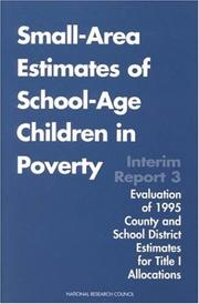 Small-Area Estimates of School-Age Children in Poverty