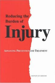 Cover of: Reducing the burden of injury |