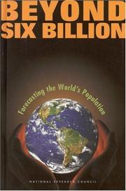 Cover of: Beyond six billion | National Research Council (US)