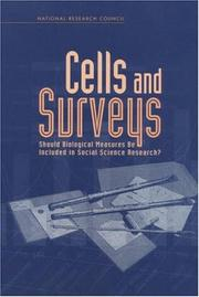 Cover of: Cells and Surveys | Committee on Population
