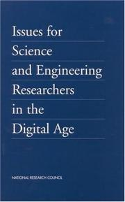 Cover of: Issues for science and engineering researchers in the digital age |