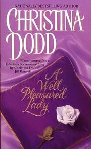 Cover of: A Well Pleasured Lady