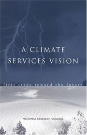 Cover of: A Climate Services Vision | National Research Council (US)