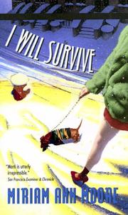 Cover of: I will survive