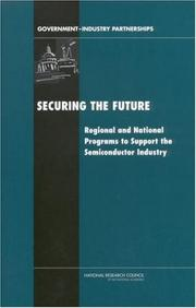 Cover of: Securing the Future | National Research Council (US)