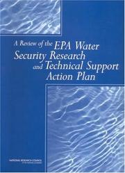Cover of: Review of the Epa Water Security Research and Technical Support Action | National Research Council (US)