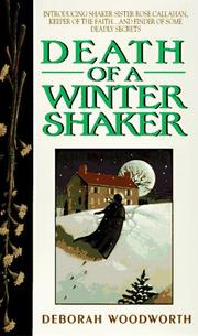 Cover of: Death of a Winter Shaker