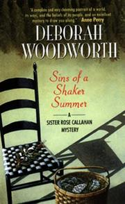 Cover of: Sins of a Shaker Summer